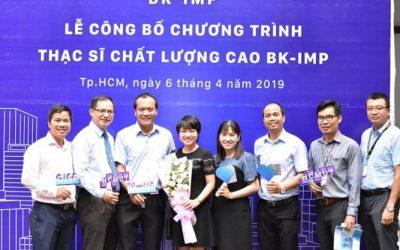 Lễ ra mắt chương trình Thạc sĩ Chất lượng cao BK – IMP