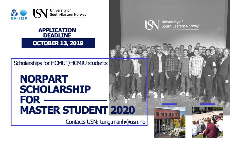 Học bổng trao đổi của Trường University South – Eastern Norway dành cho sinh trường Đại học Bách Khoa, Đại học Quốc Tế