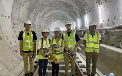 Chuyến tham quan thực tế dành cho học viên BK-IMP – Công trình tuyến Metro số 1 tại Việt Nam
